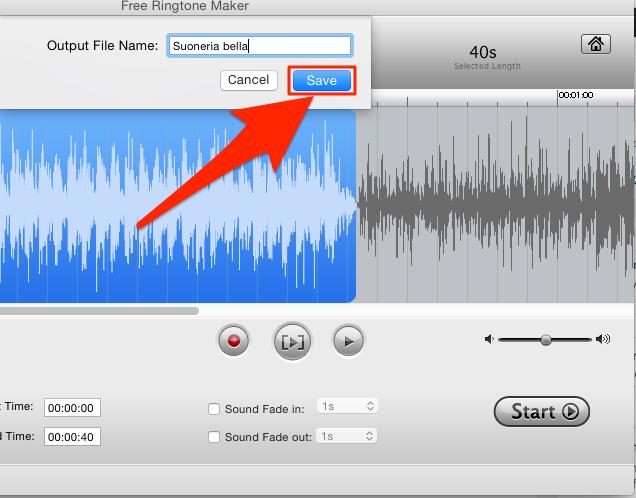 suonerie colonne sonore gratis